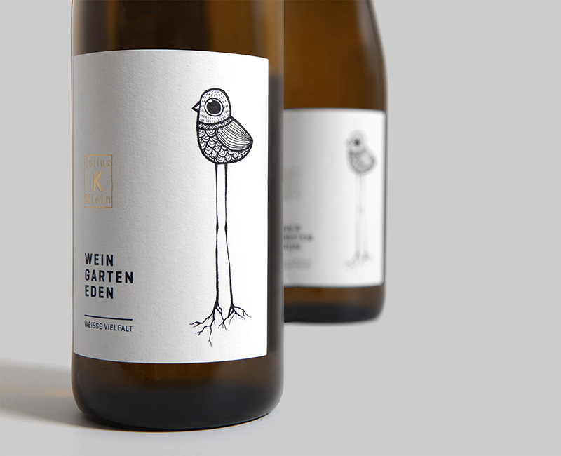 Label Design, Etikette, Flasche